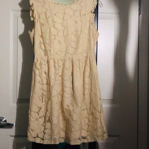 Heavier weight laced dress